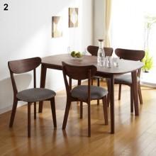 Bộ bàn ghế BALIST A, (1m35, 4 ghế)
