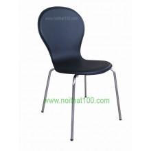 Ghế gỗ uốn PVC 03