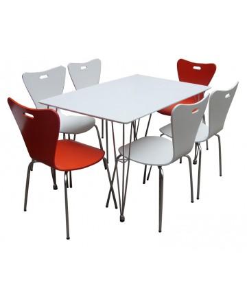 Bộ bàn ghế Rose 02