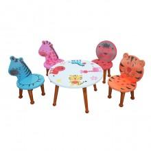 Bộ bàn ghế mẫu giáo ANIMAL