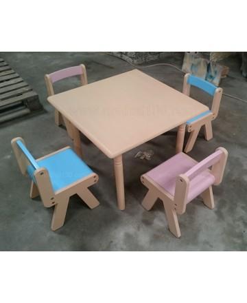 Bộ bàn ghế mẫu giáo Kodo 05 (02 ghế)