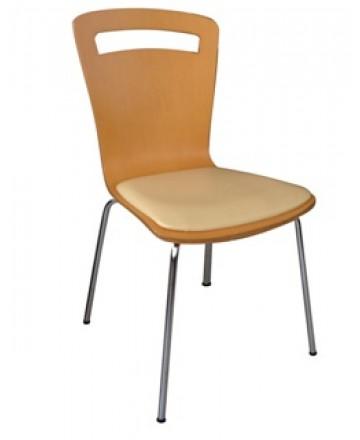 Ghế gỗ uốn có nệm
