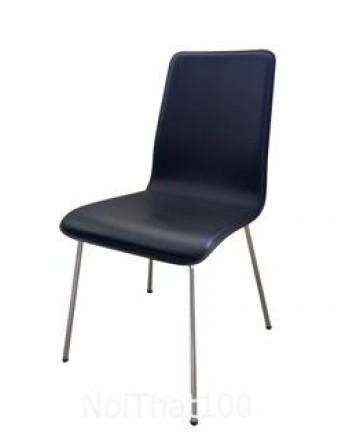 Ghế gỗ uốn PVC 02
