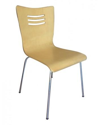 Ghế gỗ uốn 05b
