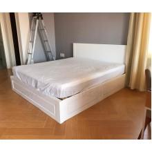 Giường hộp Oak - wh, 1m6