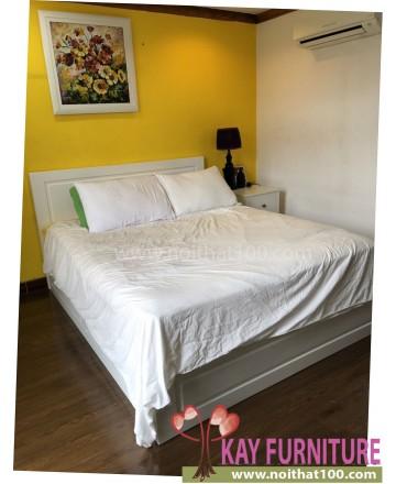 Giường hộp Oak - wh, 1m8
