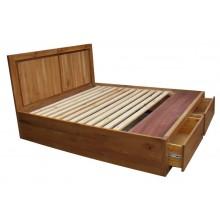 Giường hộp Oak DEVON (1m6)