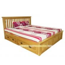 Giường hộp Oak NH, 1M6