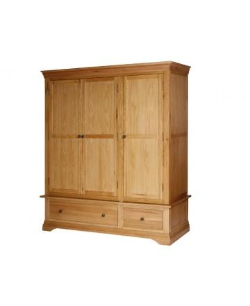 Tủ quần áo Breton Range, Oak - 1m75