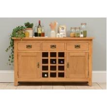 Wine cabinet #04 (Oak)